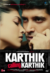 Farhan Akhtar Twitter Profile Background - Karthik Calling Karthik Poster