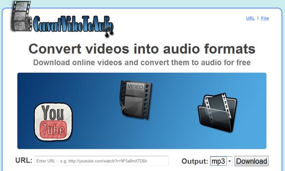 Convert Online Videos To Audio Free Online Using ConvertVideoToAudio