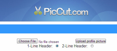 Resize Images Using PicCut Online for Facebook Photostream Hack