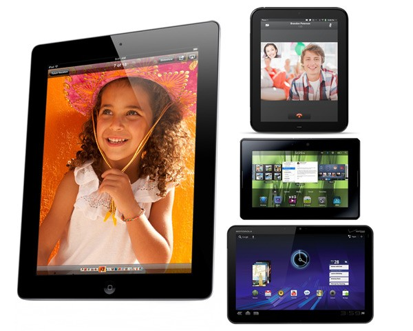 How The iPad 2 Wins The Tablet Race vs. Motorola Xoom vs RIM Playbook vs HP TouchPad
