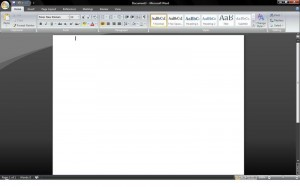 Fix Cursor on Top of Page in MS Word